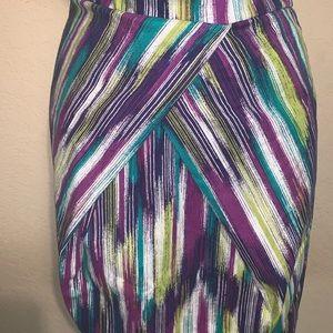 torrid Dresses - Torrid striped strapless dress size 16